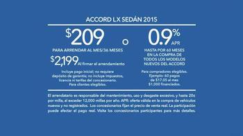 2015 Honda Accord TV Spot, 'Bad Gifters: Accord' [Spanish] - Thumbnail 9