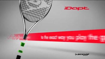 Tennis Warehouse TV Spot, 'Dunlop iDapt' - Thumbnail 3