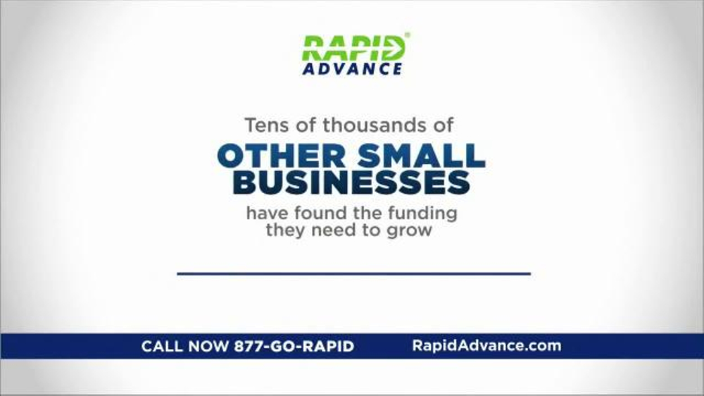 rapidadvance tv commercial small business financing ispot tv