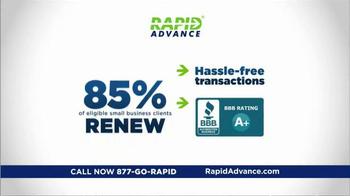 RapidAdvance TV Spot, 'Small Business Financing' - Thumbnail 5