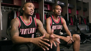 NBA Store Swingman Jerseys TV Spot, 'Not Just Looks' Feat. Damian Lillard - Thumbnail 1
