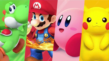 Super Smash Bros. for Wii U TV Spot, 'Characters' - Thumbnail 4
