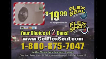 Flex Seal and Flex Shot TV Spot, 'Holiday Season' - Thumbnail 10