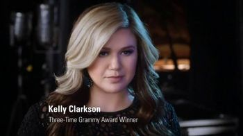 Citizen Eco-Drive Watch TV Spot Featuring Kelly Clarkson