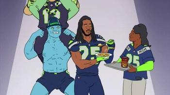 Campbell's Chunky Classic Chicken Noodle TV Spot Featuring Richard Sherman - Thumbnail 5