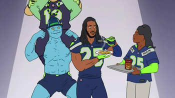Campbell's Chunky Classic Chicken Noodle TV Spot Featuring Richard Sherman - Thumbnail 6