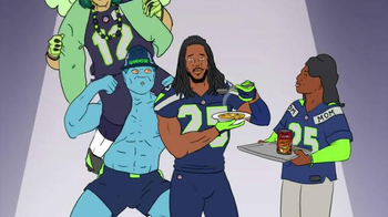 Campbell's Chunky Classic Chicken Noodle TV Spot Featuring Richard Sherman - Thumbnail 7