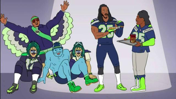 Campbell's Chunky Classic Chicken Noodle TV Spot Featuring Richard Sherman - Thumbnail 9