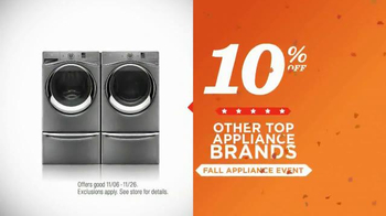 Sears Fall Appliance Event TV Spot, 'Thanksgiving Cooking' - Thumbnail 8
