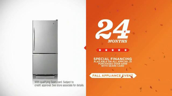 Sears Fall Appliance Event TV Spot, 'Thanksgiving Cooking' - Thumbnail 9