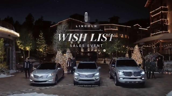 2015 Lincoln MKC TV Spot, 'Wish List Event' - 2460 commercial airings