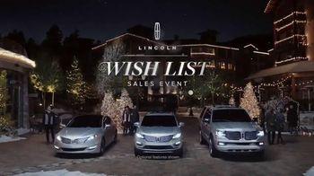 2015 Lincoln MKC TV Spot, 'Wish List Event'