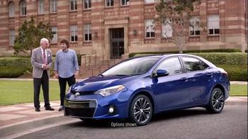 2015 Toyota Corolla TV Spot, 'Coach T: Sporty Look' - Thumbnail 1