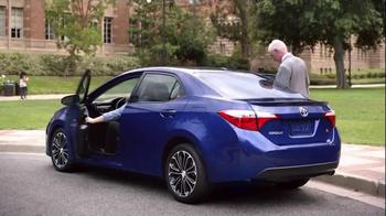 2015 Toyota Corolla TV Spot, 'Coach T: Sporty Look' - Thumbnail 9