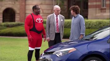 2015 Toyota Corolla TV Spot, 'Coach T: Sporty Look' - Thumbnail 6