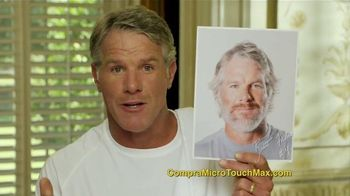 MicroTouch Max TV Spot Con Brett Farve [Spanish] - 808 commercial airings
