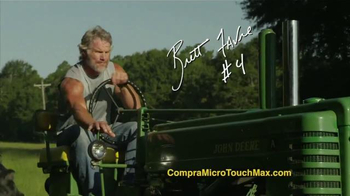 MicroTouch Max TV Spot Con Brett Farve [Spanish] - Thumbnail 1