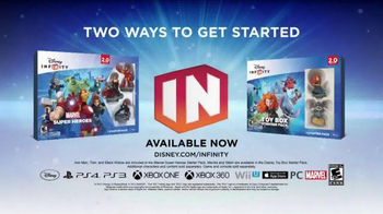 Disney Infinity 2.0 TV Spot, 'Speaking Infinity: Family 2' - Thumbnail 10