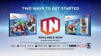 Disney Infinity 2.0 TV Spot, 'Speaking Infinity: Family 2' - Thumbnail 9