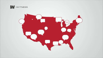 iWitness Personal Safety Smartphone App TV Spot, 'All Over the Country' - Thumbnail 1