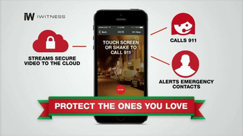iWitness Personal Safety Smartphone App TV Spot, 'All Over the Country' - Thumbnail 6