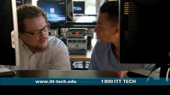 ITT Technical Institute TV Spot, 'Hands On'