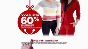 JCPenney Venta de Black Friday TV Spot, 'Me Navidearon' [Spanish] - Thumbnail 4