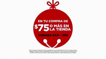JCPenney Venta de Black Friday TV Spot, 'Me Navidearon' [Spanish] - Thumbnail 8
