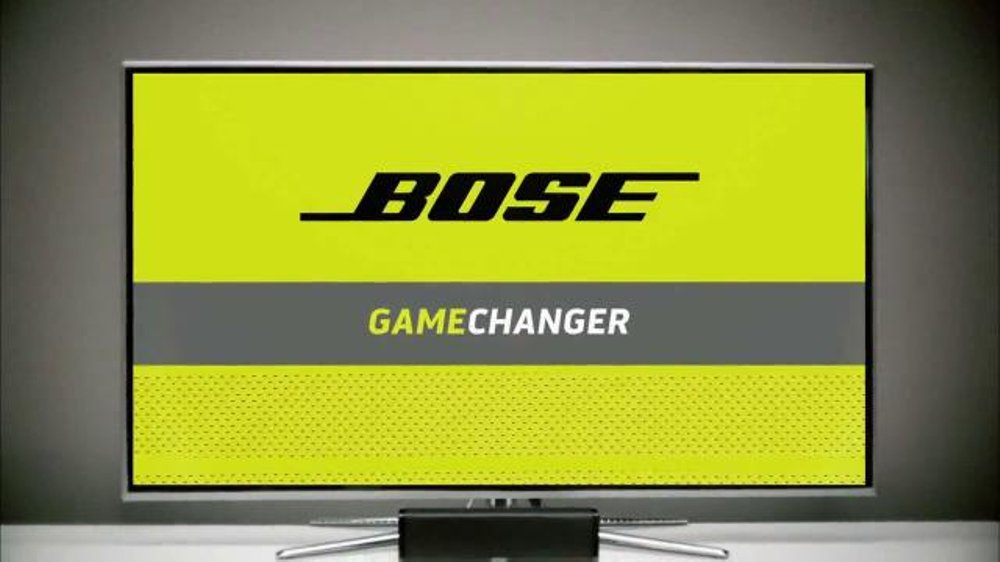 Bose CineMate 15 TV Commercial, 'Game Changing Performance'