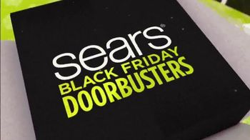 Sears Black Friday Event TV Spot, 'Doorbusters'