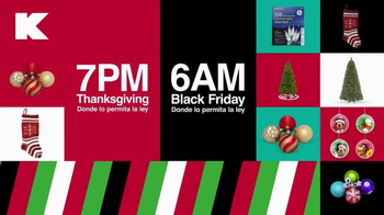 Kmart TV Spot, 'Thanksgiving Doorbusters' [Spanish] - Thumbnail 9