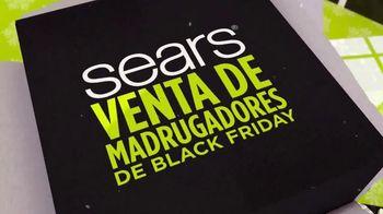 Sears Venta de Madrugadores de Black Friday TV Spot, 'Ahorros' [Spanish]