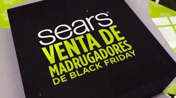 Sears Venta de Madrugadores de Black Friday TV Spot, 'Ahorros' [Spanish] - Thumbnail 2