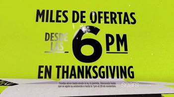 Sears Venta de Madrugadores de Black Friday TV Spot, 'Ahorros' [Spanish] - Thumbnail 4
