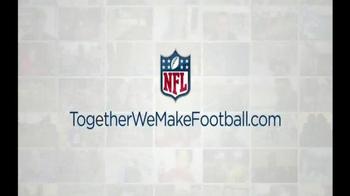 NFL Together We Make Football TV Spot, 'Karlie' - Thumbnail 10