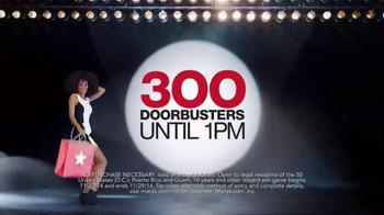 Macy's Black Friday Sale TV Spot, 'Doorbusters' - Thumbnail 3