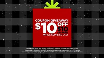JCPenney Black Friday Sale TV Spot, 'Jingle Giveaway' - Thumbnail 10