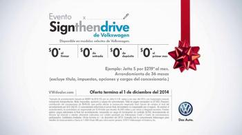 Volkswagen Evento Sign Then Drive TV Spot, 'Todos Están Hablando' [Spanish] - Thumbnail 8