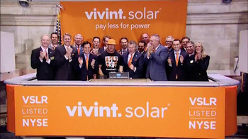 New York Stock Exchange TV Spot, \'Vivint Solar\'