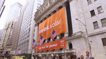 New York Stock Exchange TV Spot, 'Vivint Solar' - Thumbnail 8