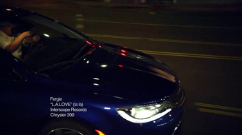 Chrysler 200 TV Spot, 'L.A. Love' Featuring Fergie - Thumbnail 1