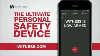 iWitness Personal Safety Smartphone App TV Spot, 'Ultimate Safety Device' - Thumbnail 5