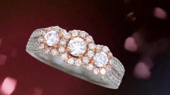 Helzberg Diamonds Three-Stone Ring TV Spot, 'For the Holiday Season' - Thumbnail 6