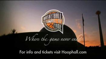 Naismith Memorial Basketball Hall of Fame TV Spot, 'Basketball History' - Thumbnail 10