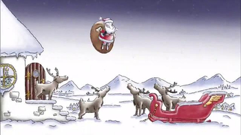 Red Bull TV Spot, \'Santa Can Fly\'