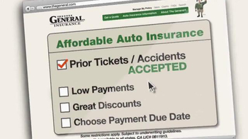 The General TV Spot, 'Good Insurance and Low Cost' - Thumbnail 5