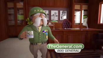 The General TV Spot, 'Good Insurance and Low Cost' - Thumbnail 8