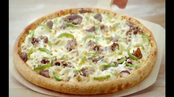 Papa John's Philly Cheesesteak Pizza TV Spot, 'Trust Your Gut' - Thumbnail 6
