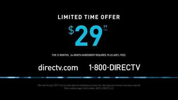 DIRECTV TV Spot, 'Scrawny Arms Rob Lowe' - Thumbnail 9