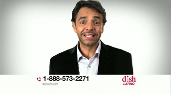 DishLATINO TV Spot, 'Qué esperas? LLamanos Ya' Con Eugenio Derbez [Spanish] - 4 commercial airings
